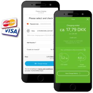 Kreditkort betaling